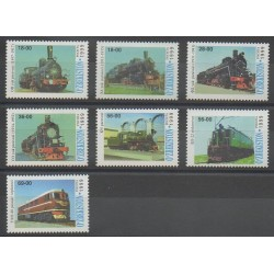 Uzbekistan - 1999 - Nb 131/137 - Trains
