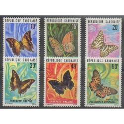 Gabon - 1973 - No 304/309 - Insectes