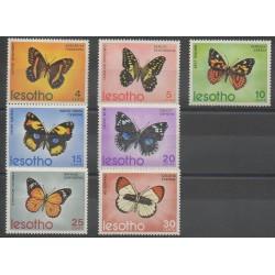 Lesotho - 1973 - No 242/248 - Insectes