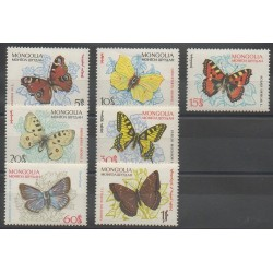 Mongolie - 1963 - No 294/300 - Insectes