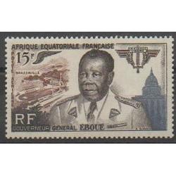 Afrique Equatoriale Française - 1955 - No PA61