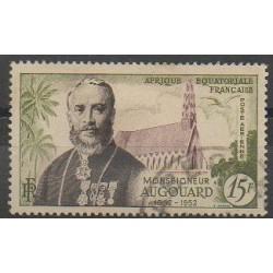 Afrique Equatoriale Française - 1952 - No PA56 - Oblitéré