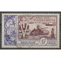 French Equatorial Africa - 1954 - Nb PA57 - Used