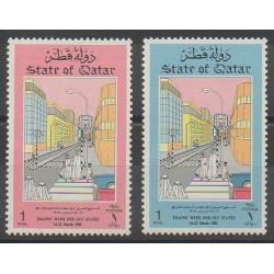 Qatar - 1985 - No 517/518