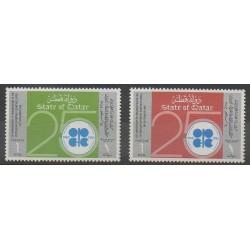 Qatar - 1985 - No 525/526