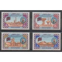 Qatar - 1985 - No 521/524 - Histoire