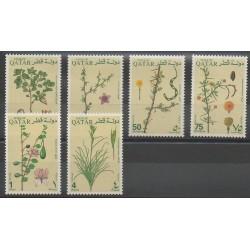 Qatar - 1991 - No 586/591 - Fleurs