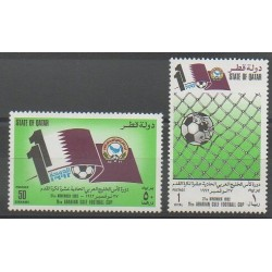 Qatar - 1992 - No 628/629 - Football