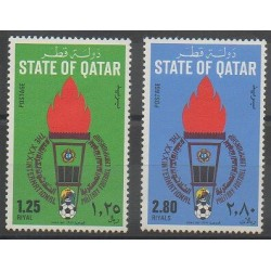 Qatar - 1981 - No 448/449 - Football