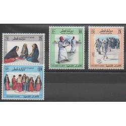 Qatar - 1993 - No 654/657 - Enfance