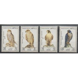 Qatar - 1993 - No 658/661 - Oiseaux