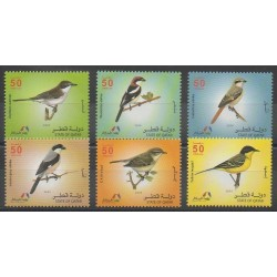 Qatar - 2009 - No 957/962 - Oiseaux