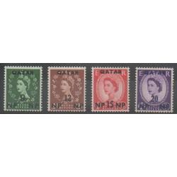 Qatar - 1960 - No 21/24