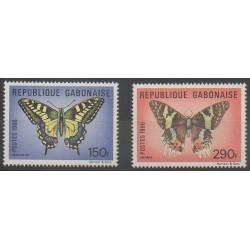 Gabon - 1986 - No 608/609 - Insectes