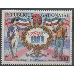 Gabon - 1989 - No 665 - Révolution Française