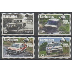 Barbados - 2017 - Nb 1338/1341 - Cars