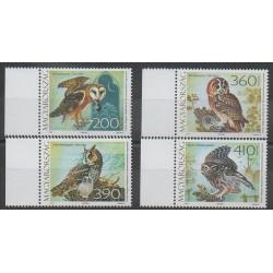 Hongrie - 2017 - No 4667/4670 - Oiseaux