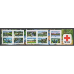 France - Carnets - 2013 - No BC837 - Santé ou Croix-Rouge - Sites
