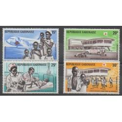 Gabon - 1969 - No PA88/PA91 - Santé ou Croix-Rouge