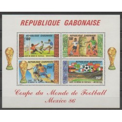 Gabon - 1986 - No BF50 - Coupe du monde de football