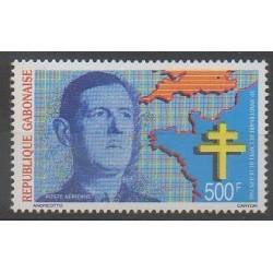 Gabon - 1990 - Nb PA288 - De Gaullle