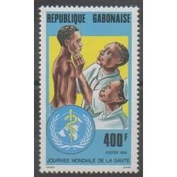 Gabon - 1990 - No 682 - Santé ou Croix-Rouge