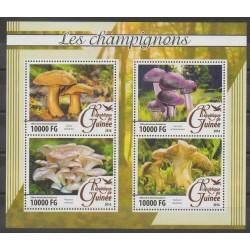 Guinée - 2016 - No 8261/8264 - Champignons