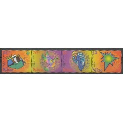 Niue - 2001 - No 746/749 - Noël