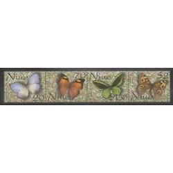 Niue - 2001 - No 733/736 - Insectes