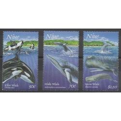 Niue - 1997 - No 673/675 - Mammifères - Animaux marins