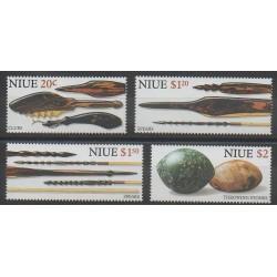 Niue - 1998 - Nb 694/697 - Craft