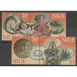 Niue - 1999 - No 710/713 - Artisanat