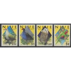 Niue - 2000 - No 717/720 - Oiseaux