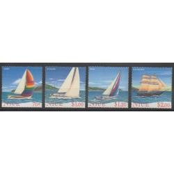 Niue - 1996 - Nb 650/653 - Boats