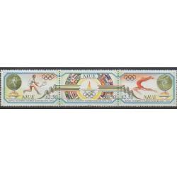 Niue - 1992 - No 587/589 - Jeux Olympiques d'été