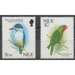 Niue - 1992 - Nb 580/581 - Birds