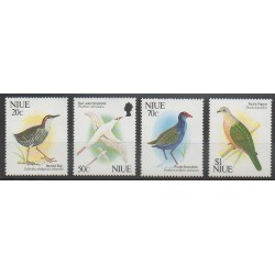 Niue - 1991 - No 576/579 - Oiseaux