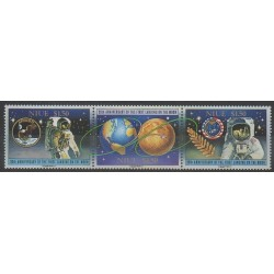 Niue - 1989 - Nb 544/546 - Space