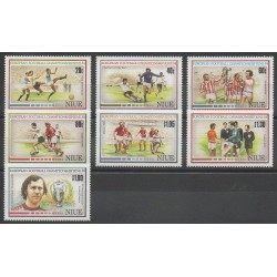Niue - 1988 - Nb 529/535 - Football