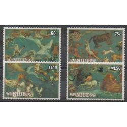 Niue - 1986 - No 488/491 - Astronomie
