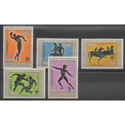 Niue - 1984 - No 434/438 - Jeux Olympiques d'été