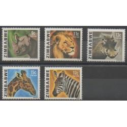 Zimbabwe - 1980 - No 6/10 - Mammifères