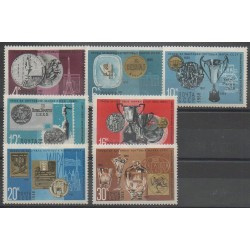 Russia - 1968 - Nb 3432/3438 - Exhibition - Philately