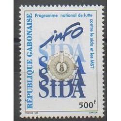 Gabon - 1996 - No 867 - Santé ou Croix-Rouge