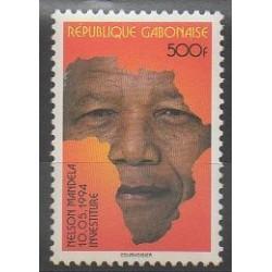 Gabon - 1996 - No 892 - Célébrités
