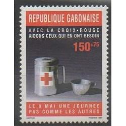 Gabon - 1997 - No 893 - Santé ou Croix-Rouge
