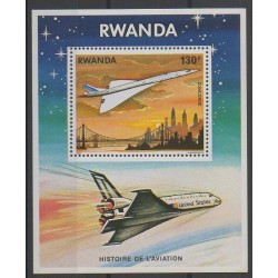 Rwanda - 1978 - No BF81 - Aviation