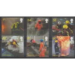 Grande-Bretagne - 2009 - No 3176/3181 - Pompiers