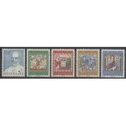 Suisse - 1967 - No 786/790 - Art