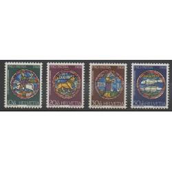 Swiss - 1968 - Nb 807/810 - Art